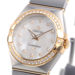 Replica Omega Constellation Diamonds Mini Guarda 123.25.27.60.55.00
